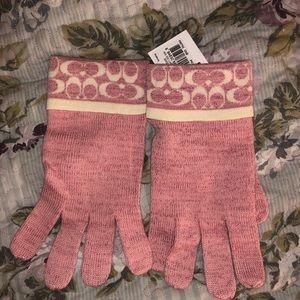 COACH Lurex Optic Gloves 🧤✨BNWT!
